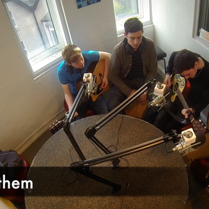 "tunes and chat with Fifth Anthem on ""the Hangover Cure"" UCC98.3FM"