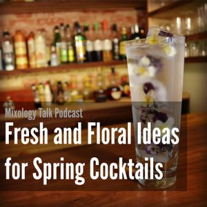 41 - Fresh and Floral Ideas for Spring Cocktails