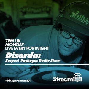 Suspect Packages Radio Show (Stream 101) 13/09/21