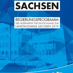 AfD-Programm zur Landtagswahl am 01.09.2019 in Sachsen