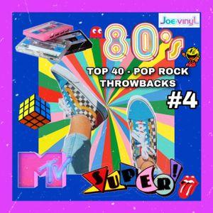 80's Top 40, New Wave, Pop Rock Throwbacks #4