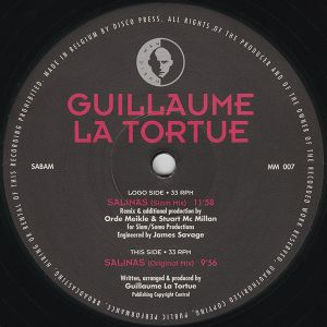 Guillaume La Tortue : in the mix ! Radio FG 98.2, unknown date early 90's