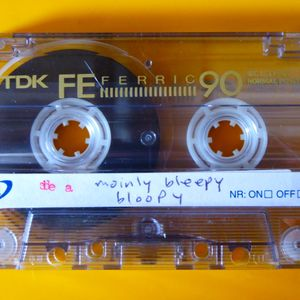 by writing the songs down with a typewriter the tape might sound better : mainly bleepy bloopy (A)