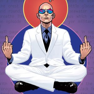 """W.A.R presents Grant Morrison """"Upgrade Your Personality"""""""