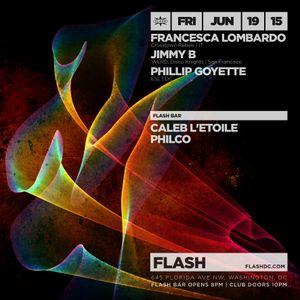 Opening Set For Francesca Lombardo & Jimmy B Live @ Flash DC 6-19-15