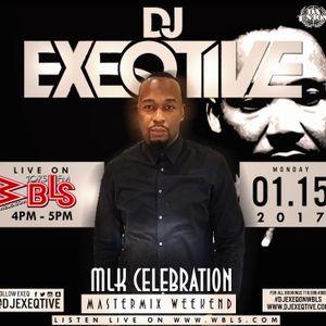 Dj Exeqtive live on 107.5 wbls MLK weekend W/ BUGSY