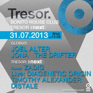 Joel Alter @ BHC / Next - Tresor Berlin - 31.07.2013