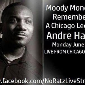 Ricky Bradshaw Tribute To Andre Harris Mix on Moody Mondays & No Ratz Radio 6/5/17