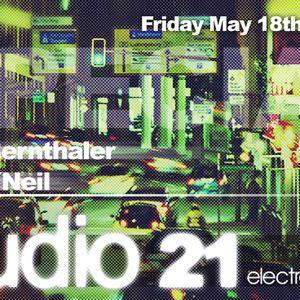 WEB-TV Show | STUDIO21 Spezial Marc O Neil live@electrosound 18 Mai 2012