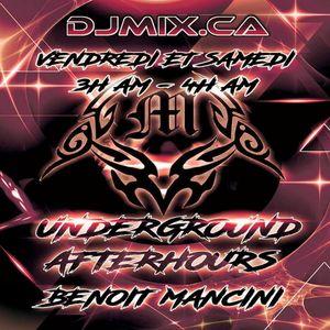 Benoit Mancini - Underground Afterhours 02 (2017-10-14) DJMIX.CA