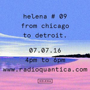 HELENA by Gonçalo #09 From Chicago to Detroit (07-07-2016)