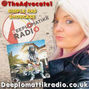 Advocate    - Simple Ras Showcase radio mix  Deeplomatikkradio.co.uk