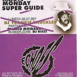 Frankie Knuckles @ Magic Monday - Echoes, Misano (RN) - 28.07.1997