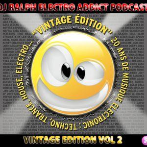 DJ Ralph Podcast - Electro Addict N°70 - Vintage Edition Vol 2