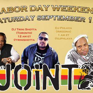 Trini Shotta-SiriusXM Dancehall Saturday Night Sept.01.12- Labor Day Mix