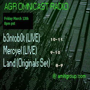 Omnicast Radio_Mars : Mercyel (LIVE PA)