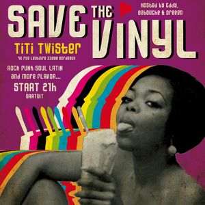 SAVE THE VINYL @ TITI TWISTER - BABOUCHE EDDY DREEGO 01/12/2012