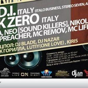 M.I.D.I & Nick Zero @Prime Club - Kiev 21.04.2012