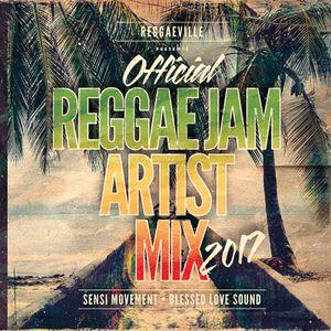 Official Reggae Jam Artist Mix 2017