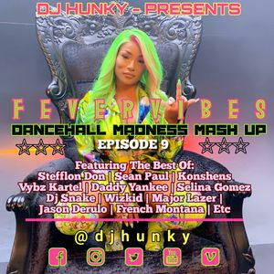 DJ HUNKY - BEST OF DANCEHALL MADNESS MASH UP (EPISODE 9