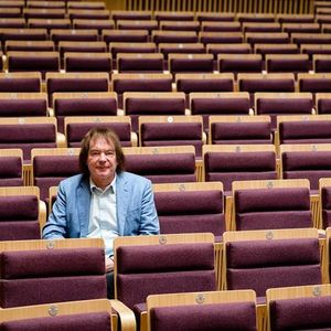 ROUNDABOUT WITH TONY BARNFIELD visits Julian Lloyd Webber at the new Royal Birmingham Conservatoire