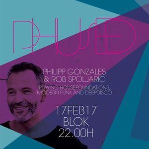 Blok Bar 17Feb17 - Phused Birthday Bash Part2 with Philipp Gonzales