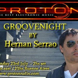 07-23-2012 GROOVENIGHT from Buenos Aires By HERNAN SERRAO PART  1