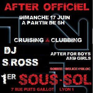 S.ROSS AFTER DELICE@1er SOUS-SOL GAY PRIDE 2012