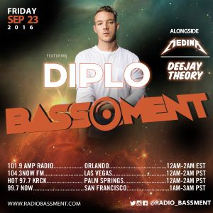 The Bassment 9/23/16 w/ Deejay Theory