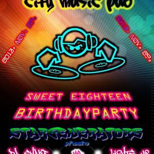 Lights Up - Sweet Eighteen Party