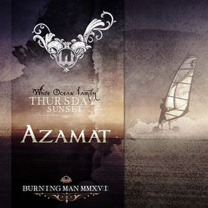 Azamat – White Ocean Sunset - Burning Man 2016