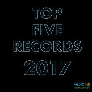 Selvmedisinering #3: Top Five Records 2017