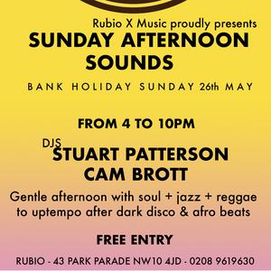 Sunday Afternoon Sounds #11 by Stuart Patterson   Mixcloud