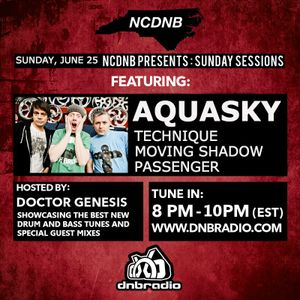 NCDNB Sunday Sessions - 06/26/2017 - Aquasky Guest Mix