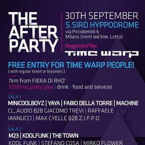 TIME WARP AFTER PARTY MILANO 2012 (DJ SET RAFFAELE IANNUCCI)