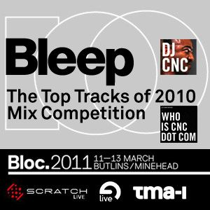 Bleep Competition: Best of 2010 according to CnC