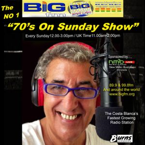 "DO NOT MISS! The No 1 ""70's On Sunday Show"" with Lee Howard Sunday 20th December 2015 (NEWS OUT)"