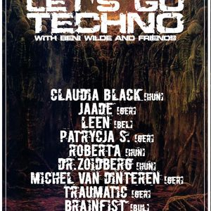 Let's Go Techno With Beni Wilde & Friends | Episode 13 : Claudia Black