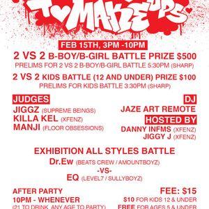 Make Ups To Break Ups Jam (Hip-Hop set) 2/15/14