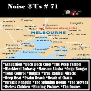 noise r'us#71 (Aout 2013) ''Melbourne''