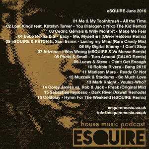 eSQUIRE June 2016 Podcast - FREE DOWNLOAD