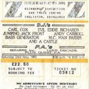 Carl Cox @ Rezerection: The Castle 1992