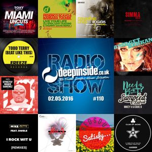 DEEPINSIDE RADIO SHOW 110 (Todd Terry Artist of the week)