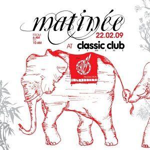Flavio Vecchi @ Matinée at Classic Club, Rimini - 22.02.2009