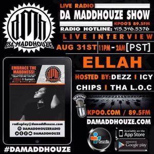 Ellah returns to Da Maddhouze on KPOO 89.5 FM