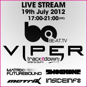 Matrix & Futurebound - Viper Recordings b@TV Takeover (July 2012)