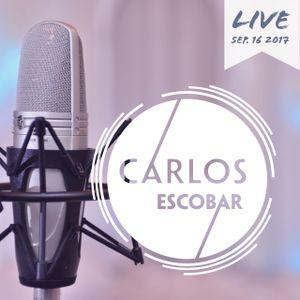 Carlos Escobar Live 16/09/2017