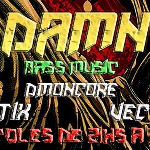 DAMN!!! #004 en Pelagatos - Invitados Vectrl-Artix-Dmoncore-Chummbeat-Dropkilla