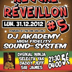 DJ AKADEMY SOUND SYSTEM & selecta YAK, 31/12/2012 Reggae Reveilon part,4