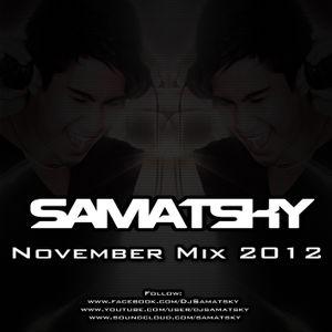 Samatsky - November Promo Mix 2012
